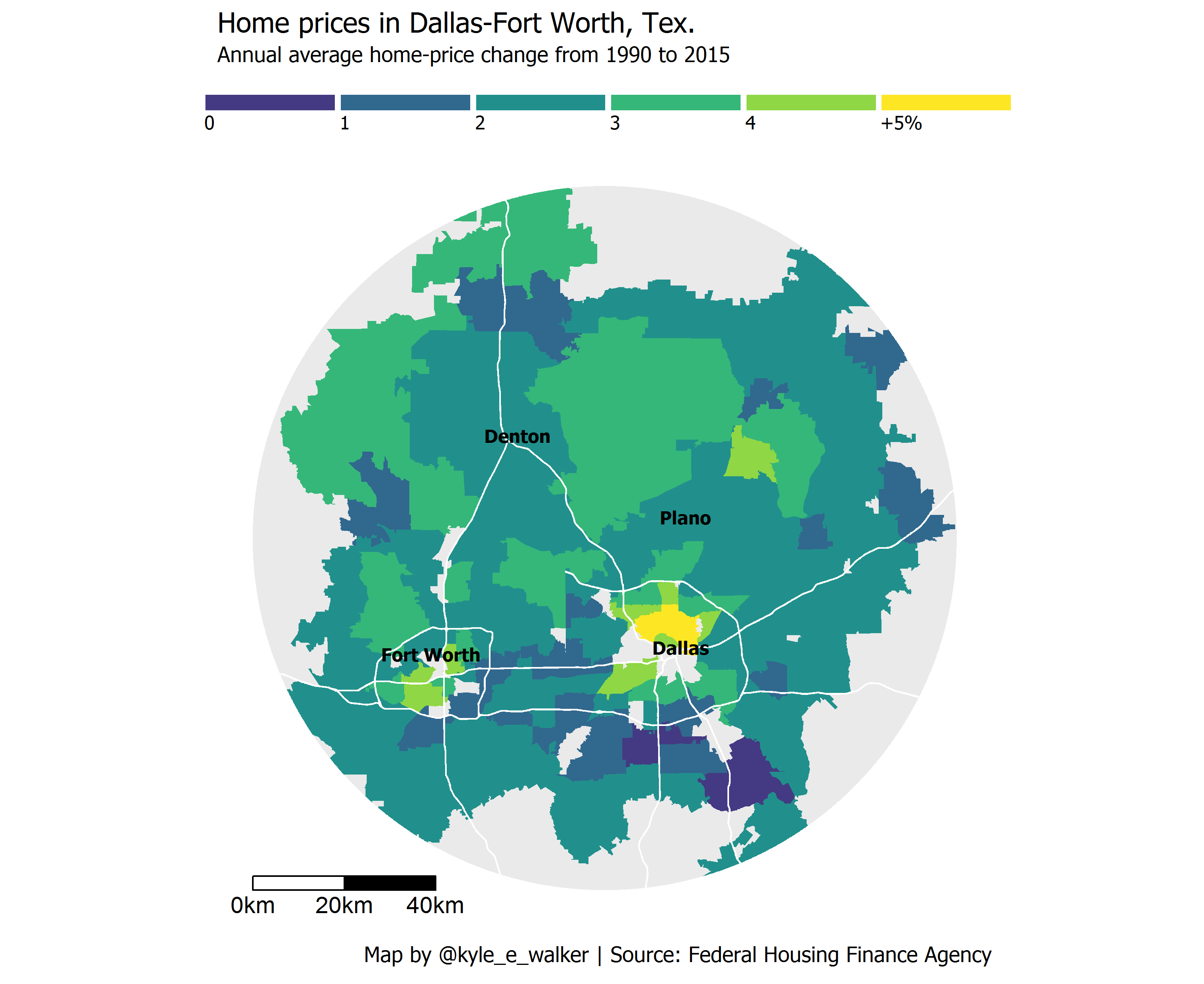 Reproducing the Washington Post housing price maps with R and ggplot2